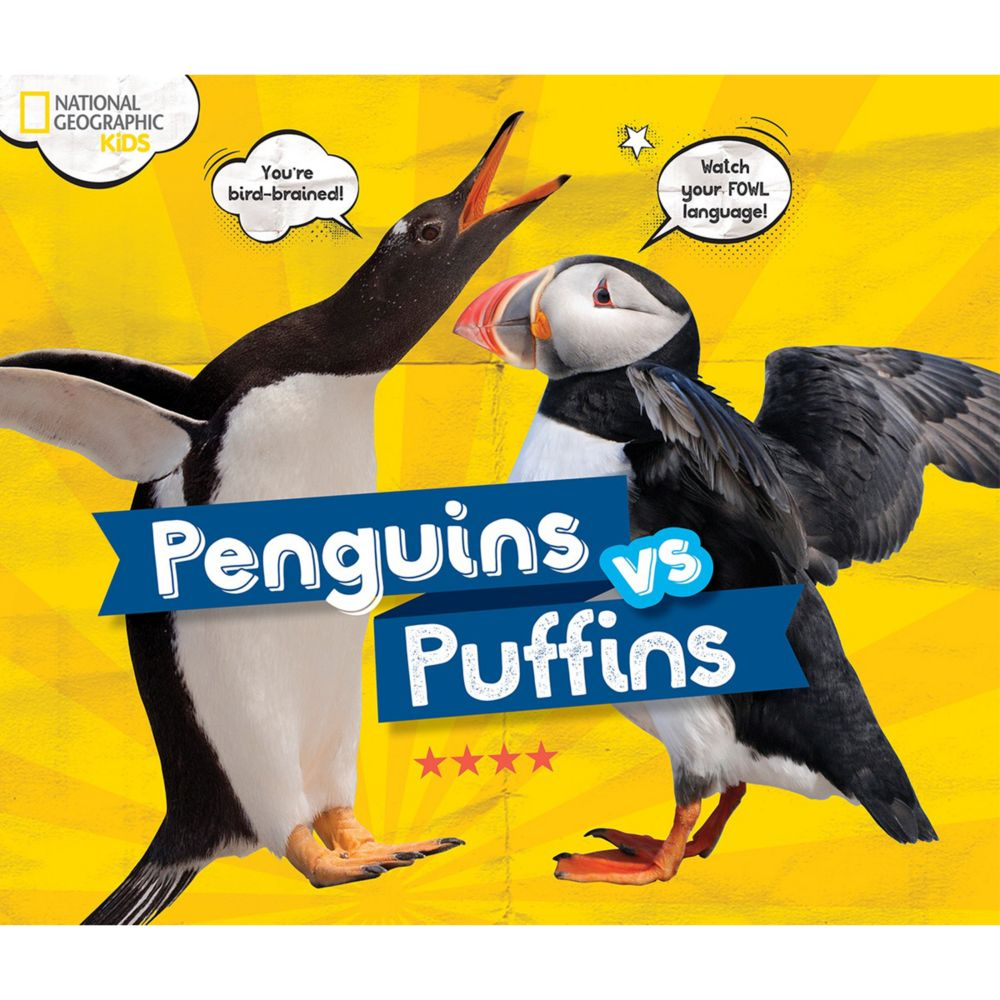 penguins vs puffins national geographic store