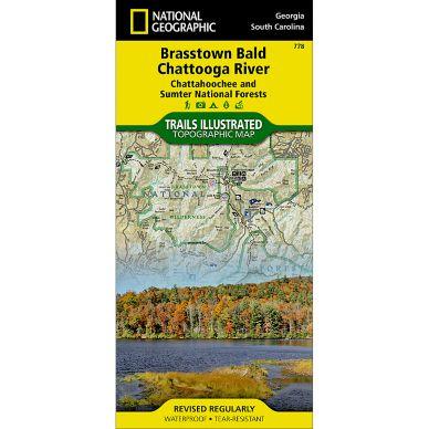 Brasstown Bald Chattooga River Chattahoochee And Sumter - Georgia map brasstown bald