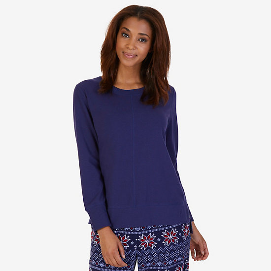 Comfy Sleep Top - Deep Sea Navy