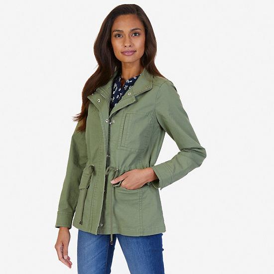 Twill Jacket - Light Olive