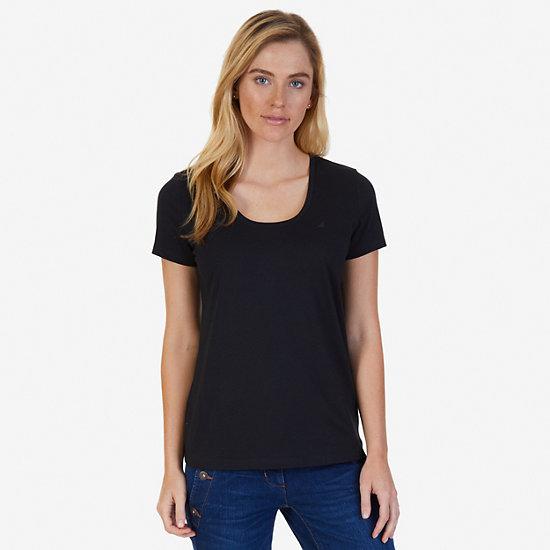 J-Class Logo Short Sleeve T-Shirt - True Black