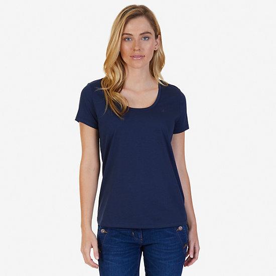 J-Class Logo Short Sleeve T-Shirt - Deep Sea