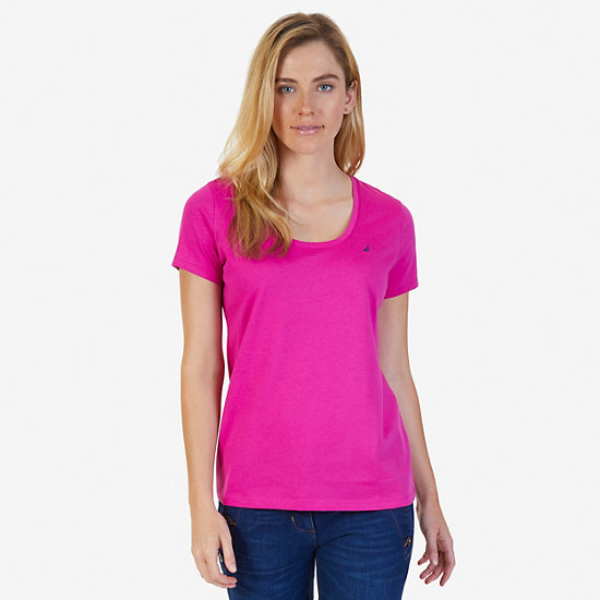 J Class Tee - Barely Pink
