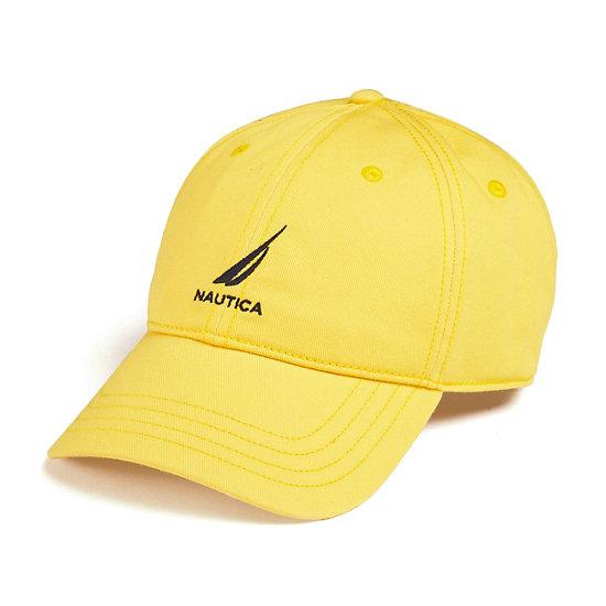 J-Class Logo Adjustable Cap - Pulp Yellow