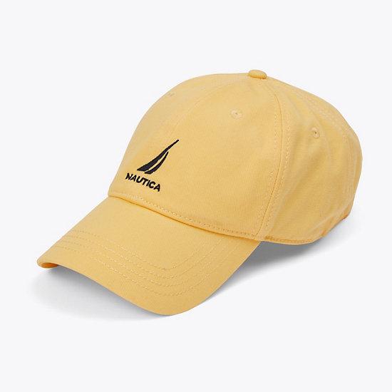 J Class Adjustable Hat - Shoreline Yellow