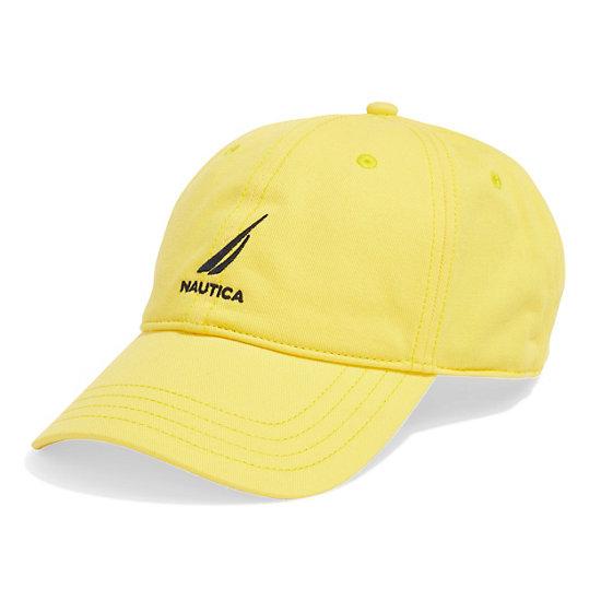 J-Class Logo Adjustable Cap - Marigold