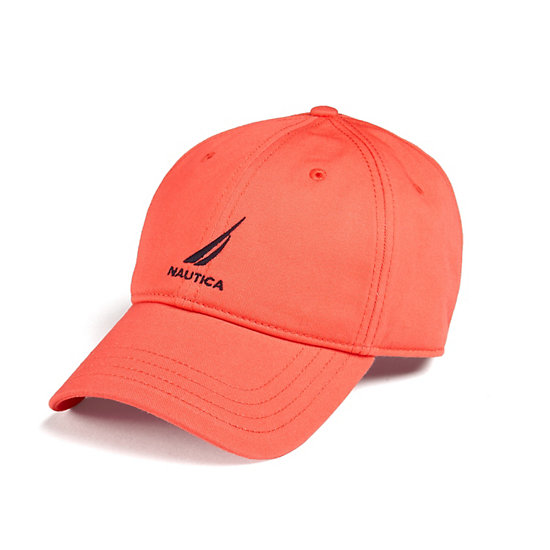 J-Class Logo Adjustable Cap - Vibe Orange