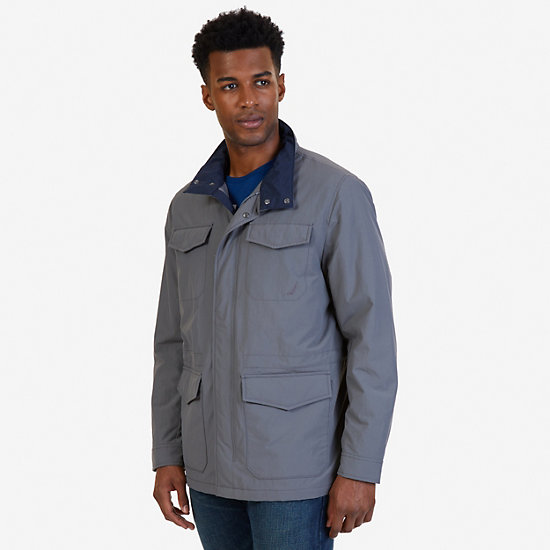 Multi Pocket Utility Jacket,Castlerock,large