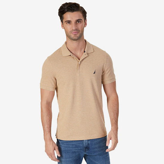 Slim Fit Deck Polo Shirt  - Espresso