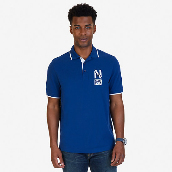 Classic Fit Signature Polo Shirt - Estate Blue