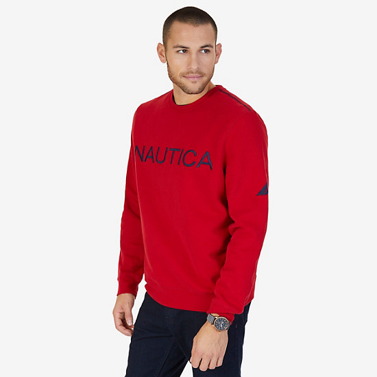 Signature Sweatshirt - Nautica Red