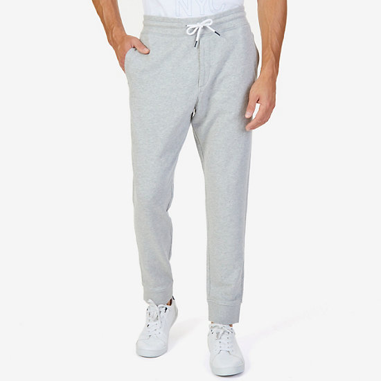 French Terry Signature Joggers - Grey Heather