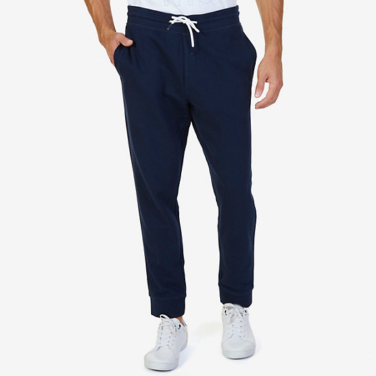 French Terry Jogger Pants - Navy