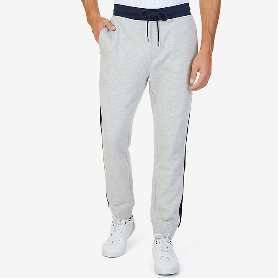 Side Stripe Jogger Pant - Grey Heather