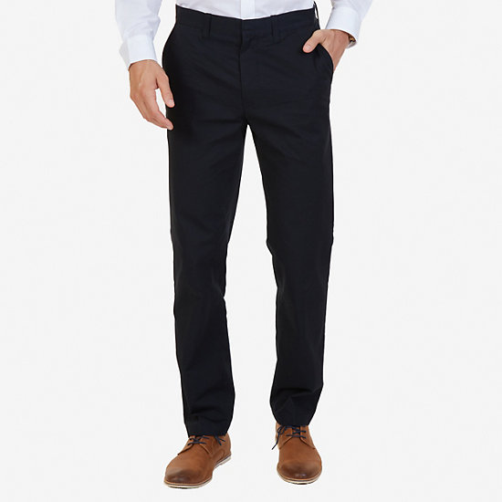 Classic Fit Bedford Cord Pant - True Black