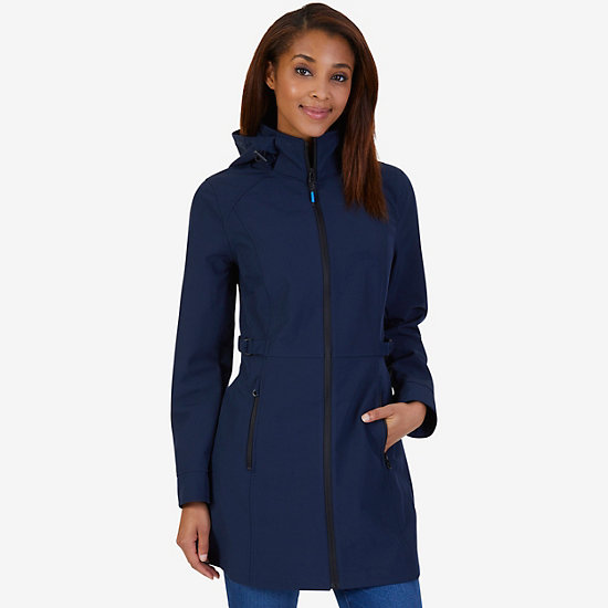 Softshell Rain Jacket - Dreamy Blue