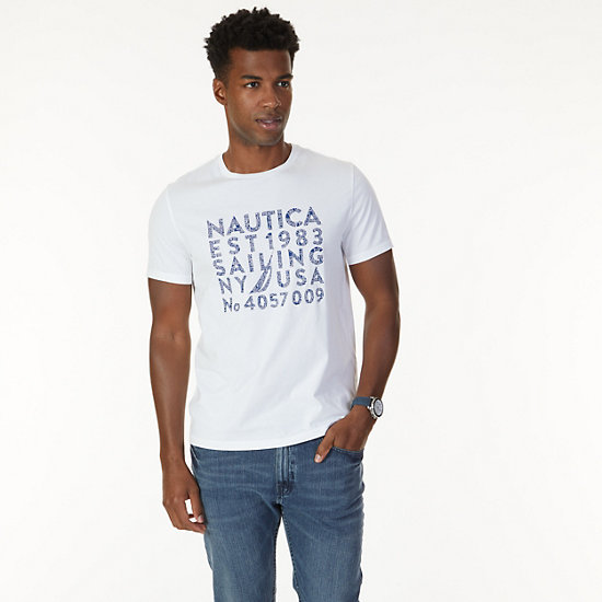 Est 1983 Graphic T-Shirt - Bright White