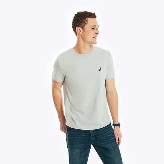 J-Class Crewneck Short Sleeve T-Shirt - Grey Heather