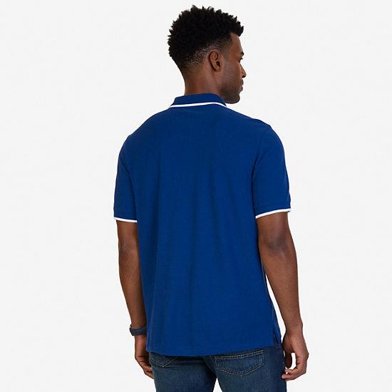 Classic Fit Signature Polo Shirt,Estate Blue,large