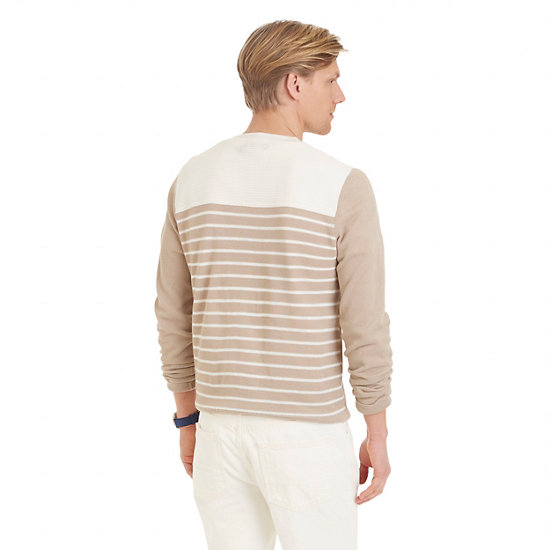 Color Block & Striped Sweater,Sandcove,large