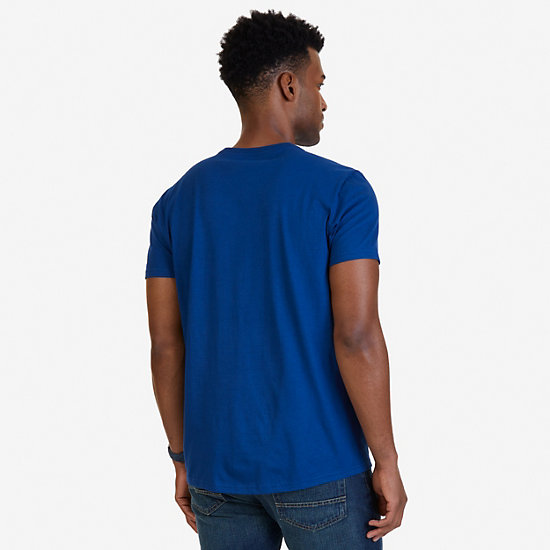 Rowing Heavyweight Graphic T-Shirt,Estate Blue,large