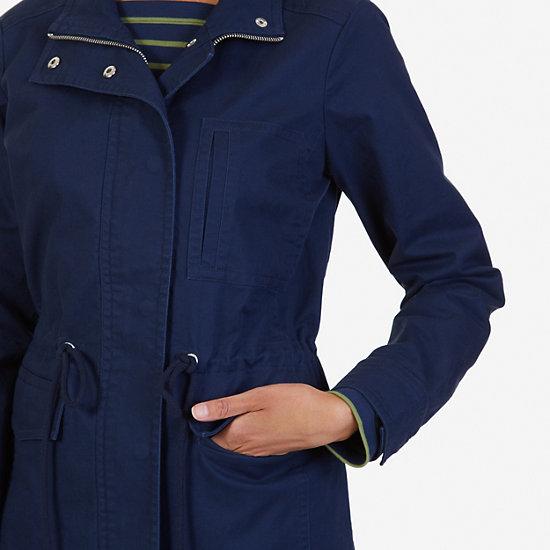 Twill Jacket,Deep Sea,large