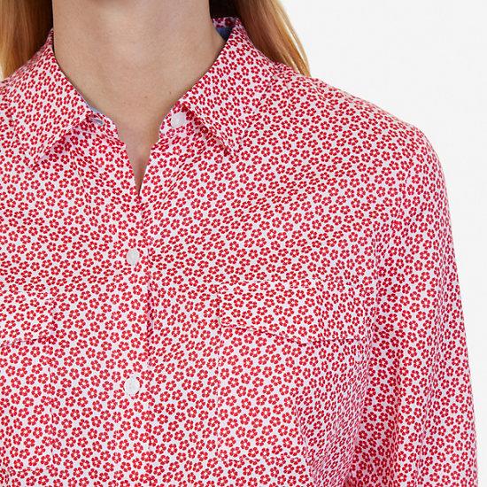 Floral Perfect Shirt,Desert Rose,large