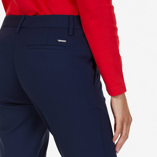 Ponte Classic Fit Trousers,Deep Sea,large