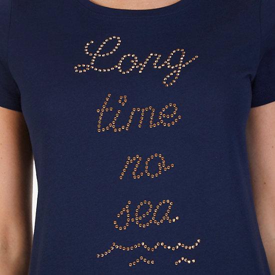 Long Time No Sea Tee,Dreamy Blue,large