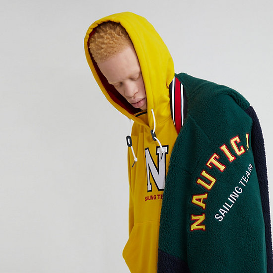 The Lil Yachty Collection by Nautica Bomber Jacket,Evergreen,large
