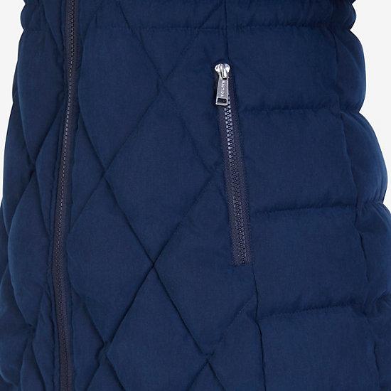 Microfiber Puffer Jacket,Deep Sea,large
