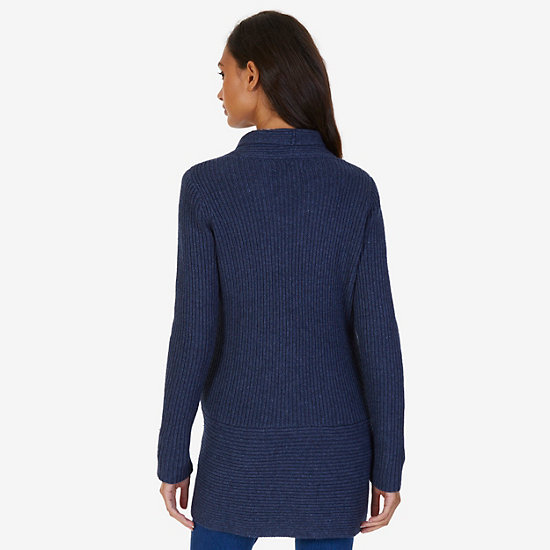 Cashmere Blend Cardigan,Starlight Blue,large
