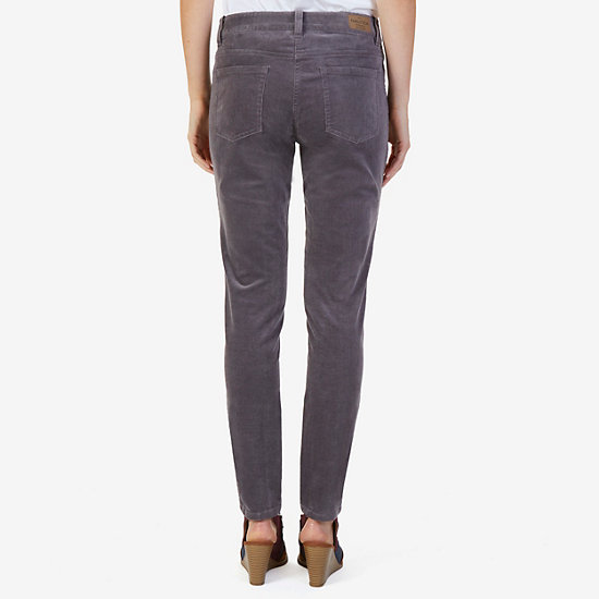 5-Pocket Stretch Corduroy Pant,Charcoal Hthr,large