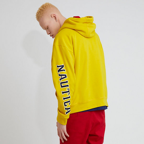 The Lil Yachty Collection by Nautica Pullover Hoodie,Shoreline Yellow,large