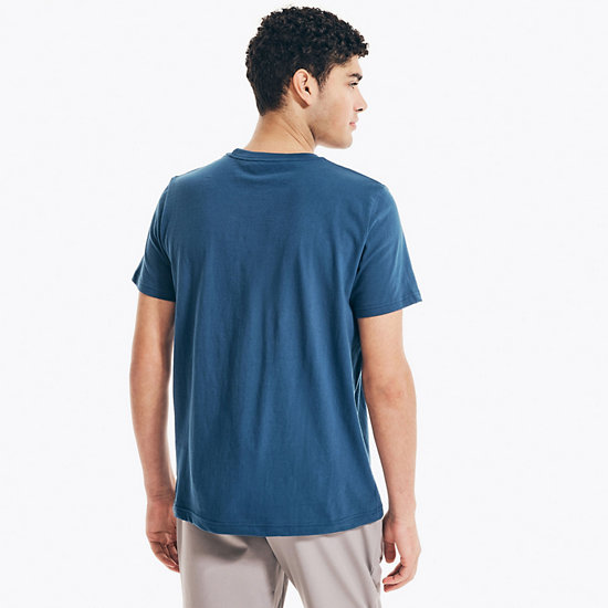 Depths and Shallows Graphic T-Shirt,Estate Blue,large