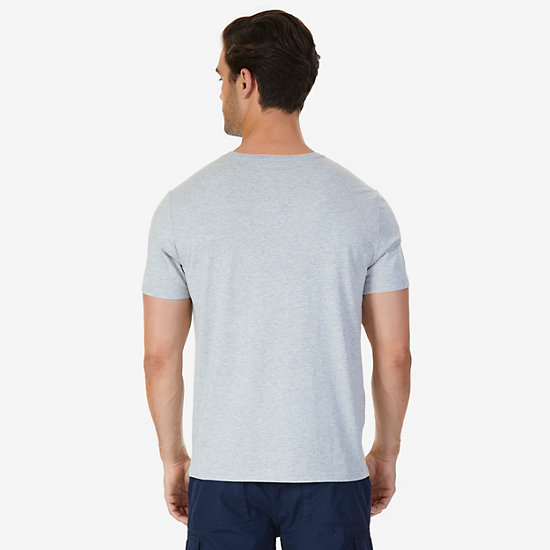 Faded J Class T-Shirt,Grey Heather,large