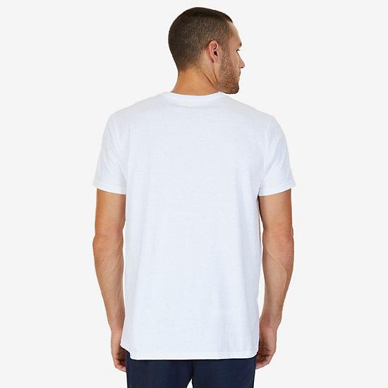 1983 NYC Graphic T-Shirt,Bright White,large