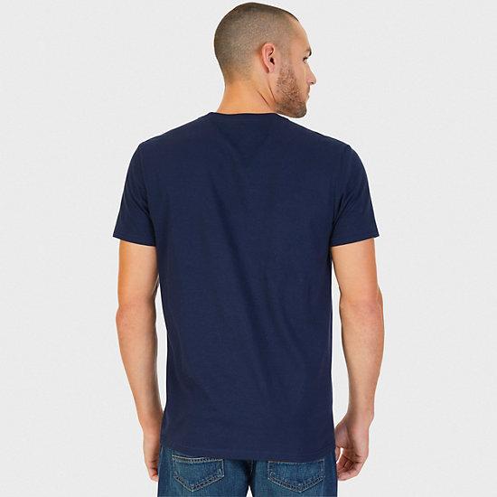Surf Shop Graphic T-Shirt,Navy,large