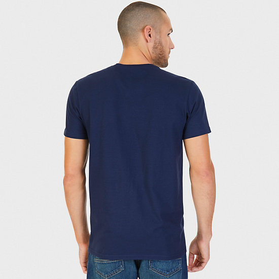 NS83 Graphic T-Shirt,Navy,large