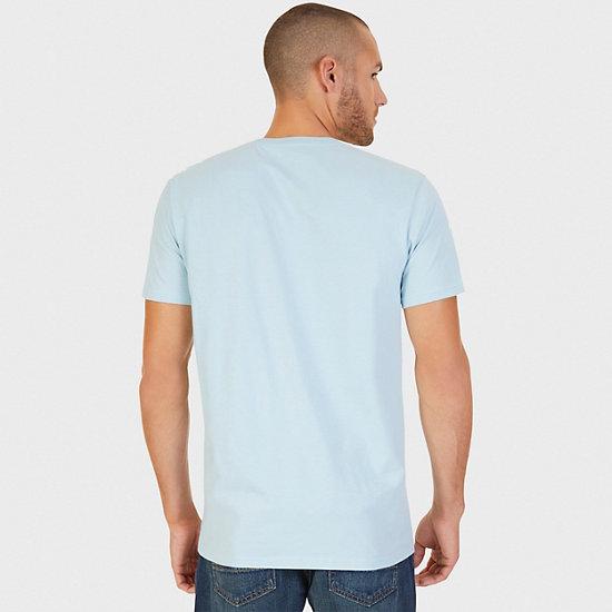 La Jolla Shores Graphic T-Shirt,Powder Blue,large