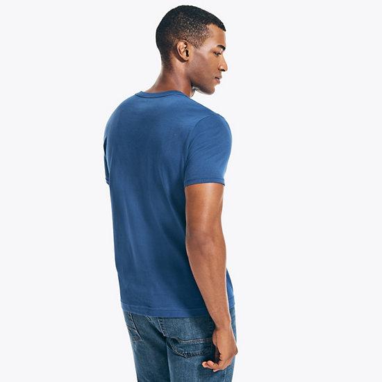 Short Sleeve Ocean Explorer Graphic T-Shirt,Blue Depths,large