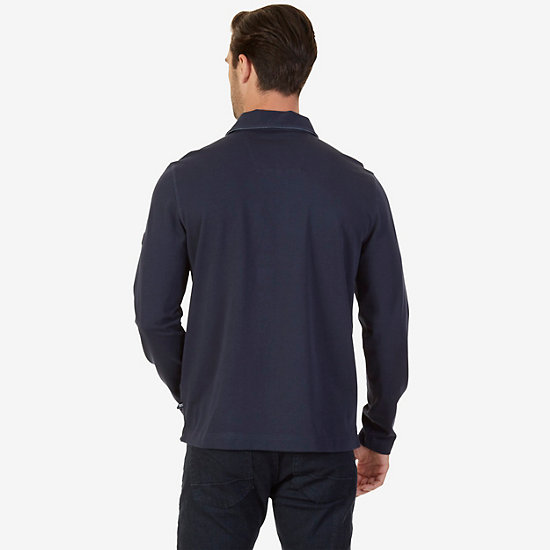 Big & Tall Classic Fit Long Sleeve Button Down,True Navy,large