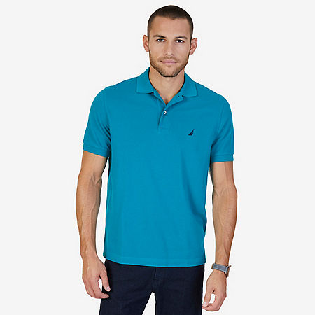 Solid Pique Classic Fit Deck Polo Shirt