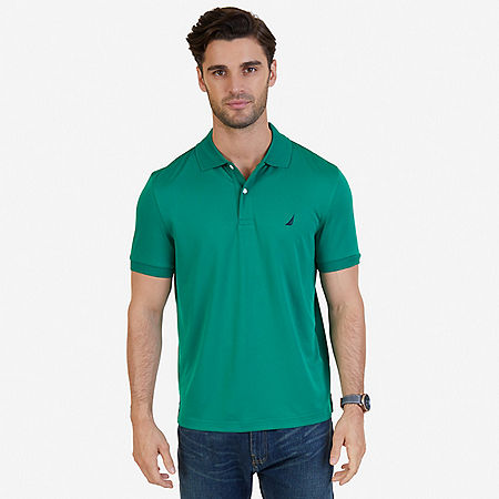 Tech Jersey Classic Fit Polo Shirt