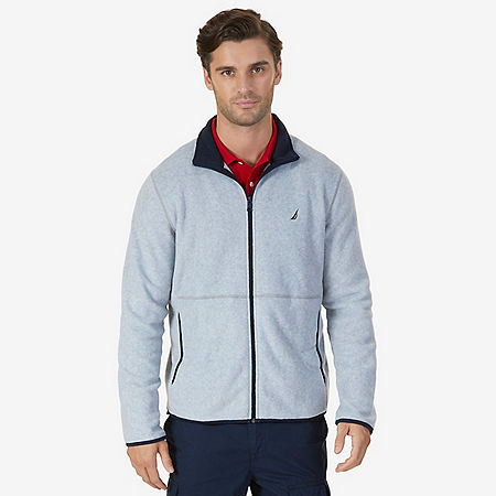 Nautex Fleece Zip Jacket - Grey Heather