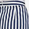Striped Pencil Skirt,Deep Sea,small