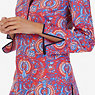 Paisley Tunic,Tomales Red,small