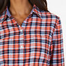Plaid Cotton Flannel Slim Fit Button Down,Icelantic Orange,small
