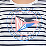 Regatta Stripe Short Sleeve T-Shirt,Bright White,small
