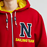 The Lil Yachty Collection  by Nautica Zip-Up Hoodie,Nautica Red,small